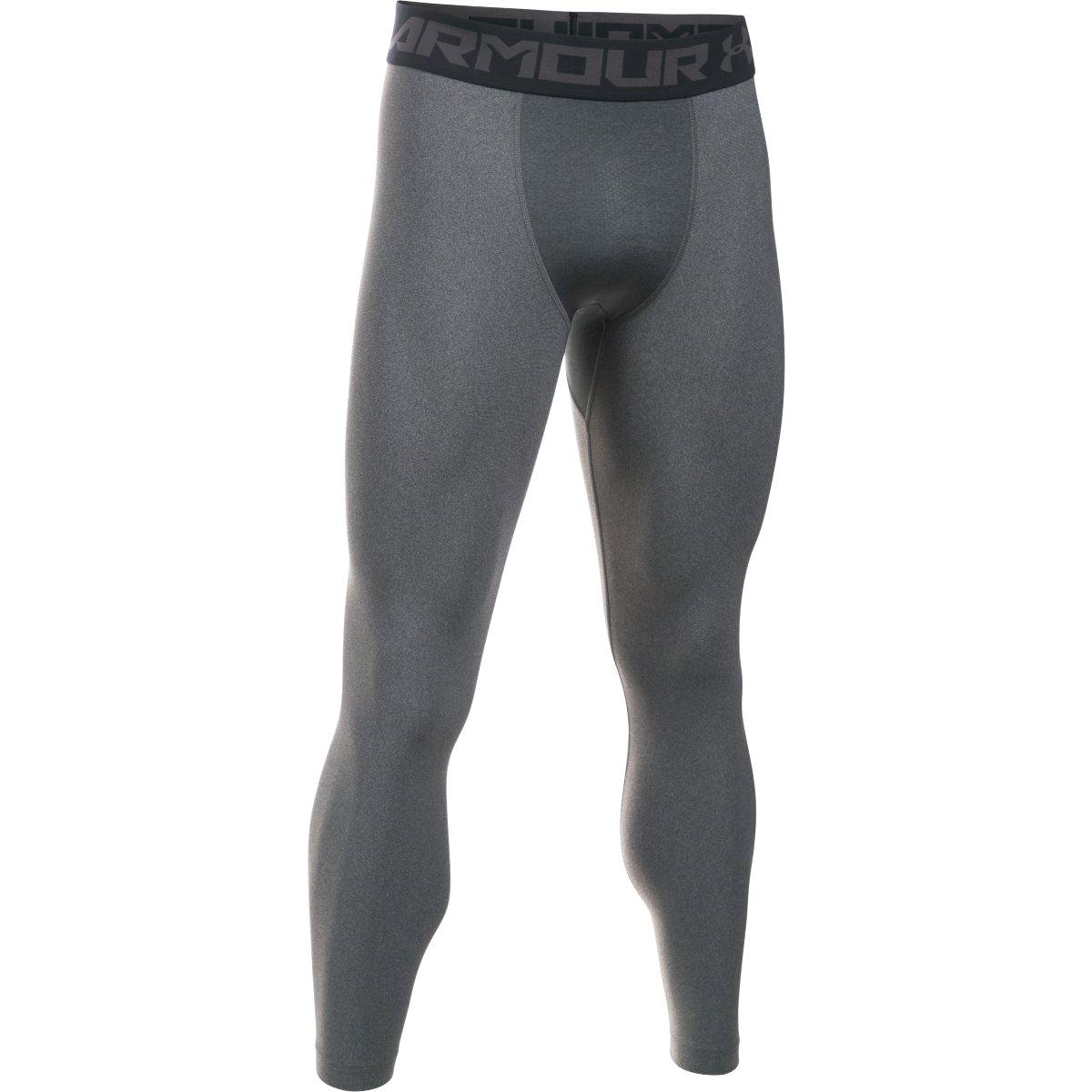 Quần lót nam Under Armour HeatGear Armour 2.0 Legging Carbon Heather/Black