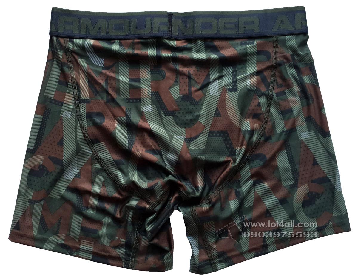 Quần lót nam Under Armour Original Series Printed Boxerjock Graphite/Black