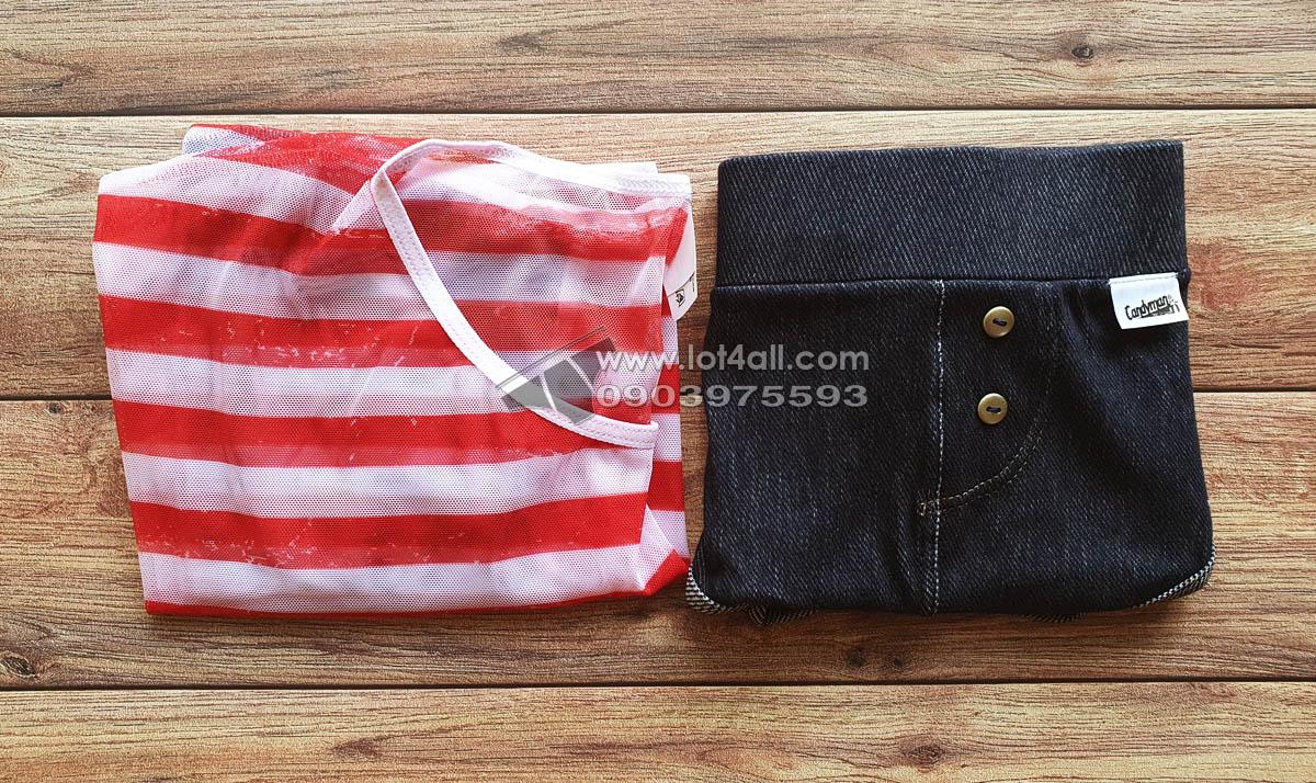 Set đồ lót nam Candyman 99443 American Crop-top & Brief 2 Pieces