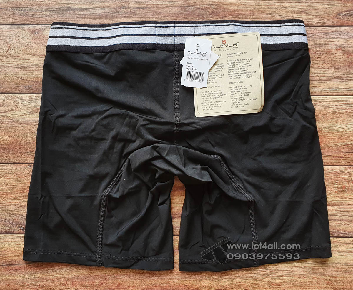 Quần lót nam Clever 0153 Connection Boxer Brief Black