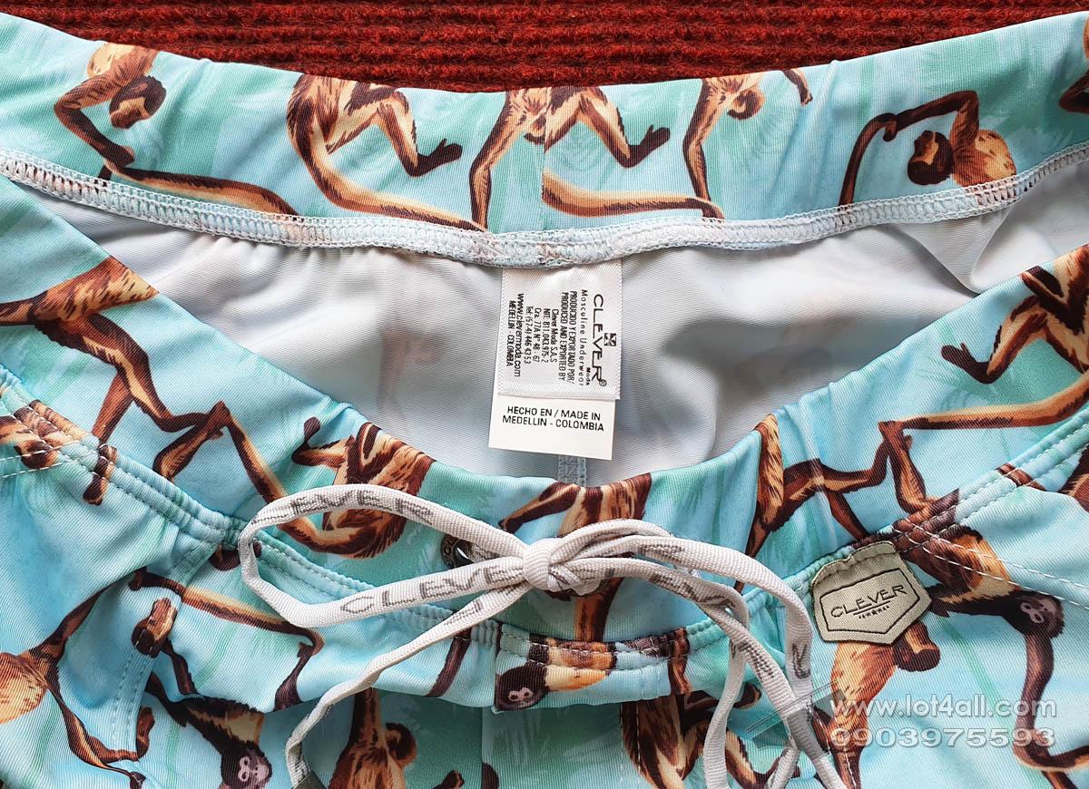 Quần lót nam Clever 0704 Alsina Swim Short Green