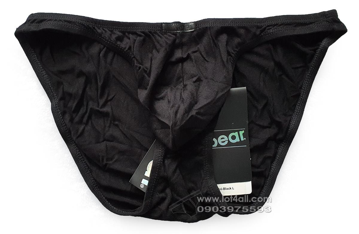 Quần lót cao cấp ErgoWear 0811 X3D Modal Bikini Black