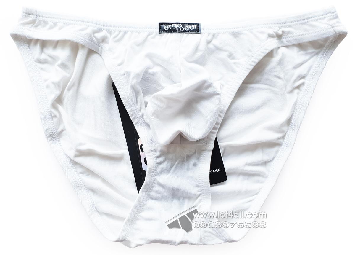 Quần lót cao cấp ErgoWear 0893 X3D Modal Bikini White