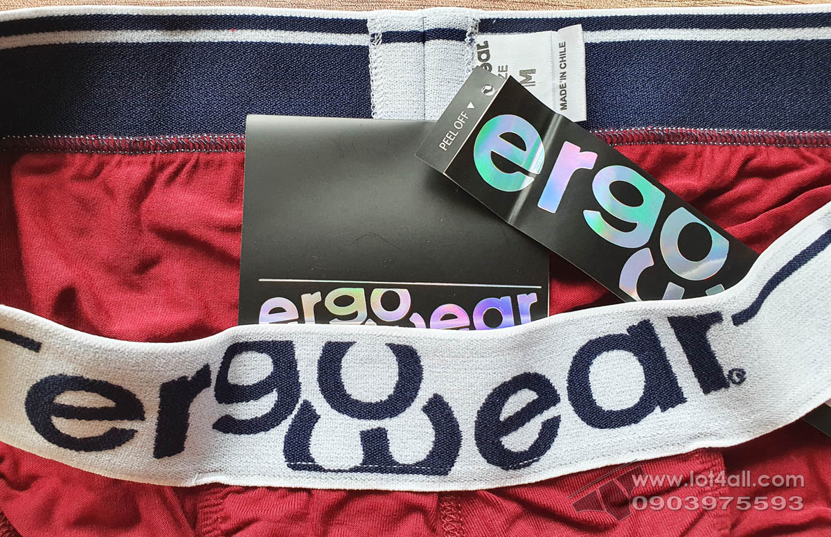 Quần lót ErgoWear EW0915 MAX Modal Bikini Burgundy