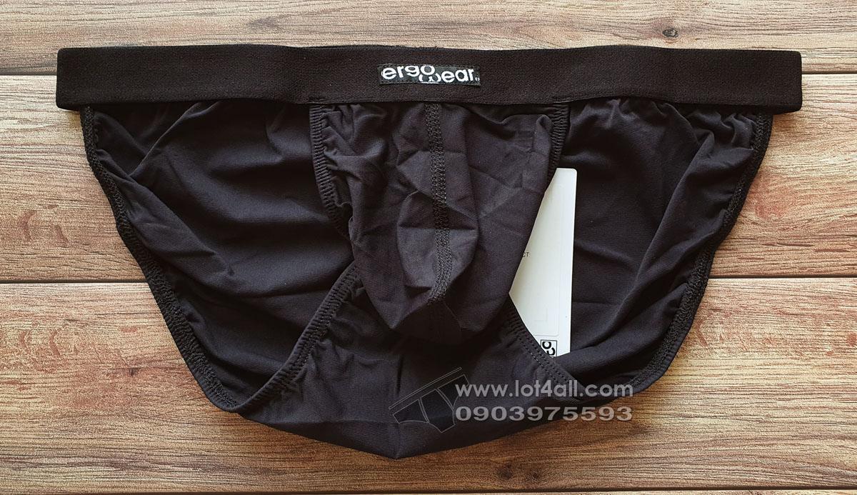 Quần lót nam Ergowear EW0954 SLK Bikini Black
