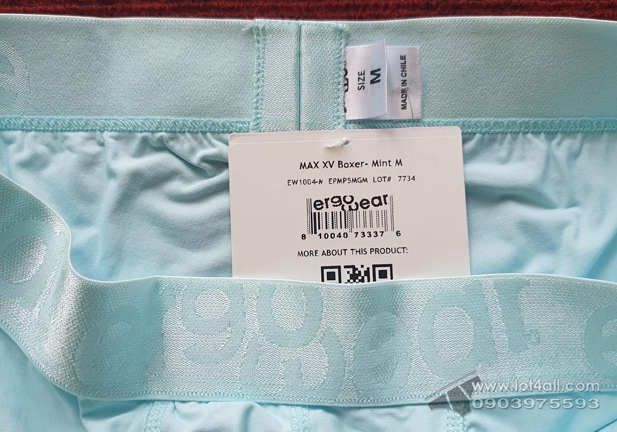 Quần lót nam Ergowear EW1004 MAX XV Trunk Mint
