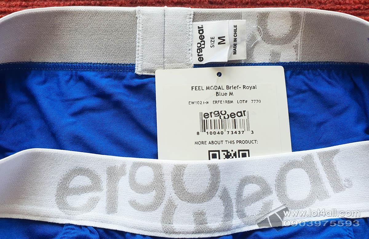 Quần lót nam Ergowear EW1021 FEEL Modal Brief Roayl Blue