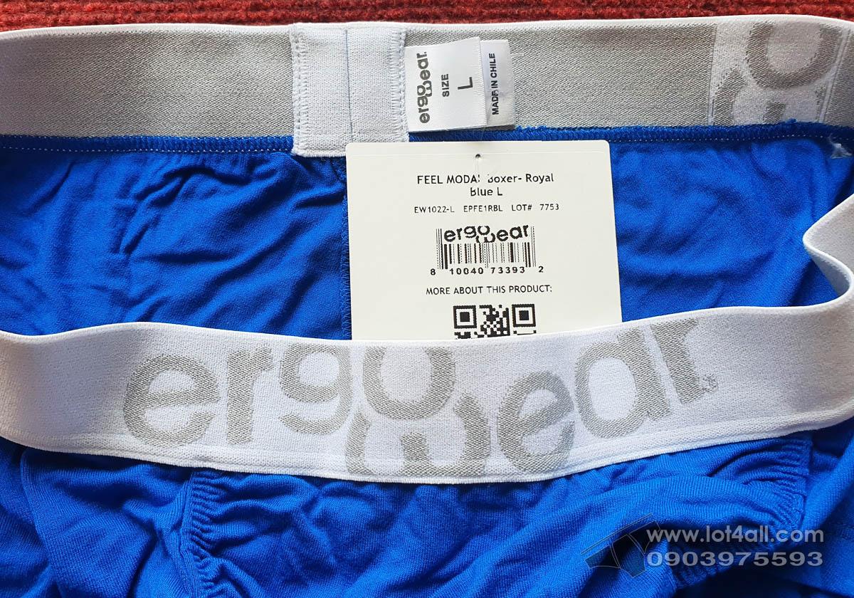 Quần lót nam Ergowear EW1022 FEEL Modal Trunk Royal Blue
