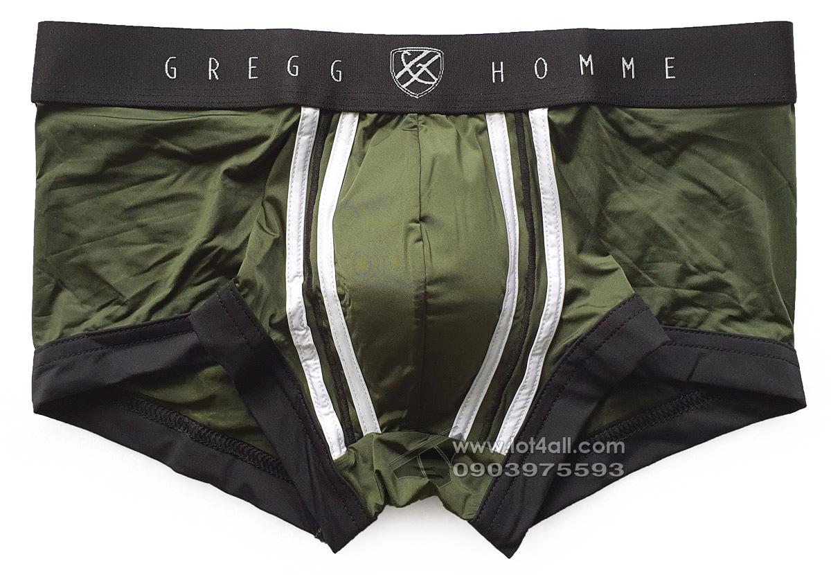 Quần lót nam Gregg Homme 142505 Push Up 2.0 Padded Trunk Khaki