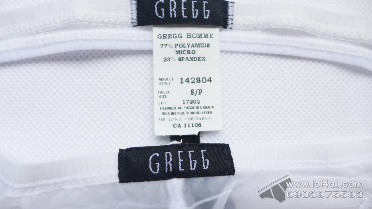 Quần lót nam cao cấp Gregg Homme Suspender Mesh C-Ring-Thong White