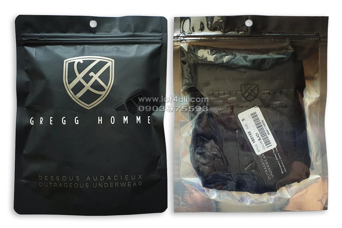 Quần lót nam Gregg Homme 160155 Arouse Trunk Black