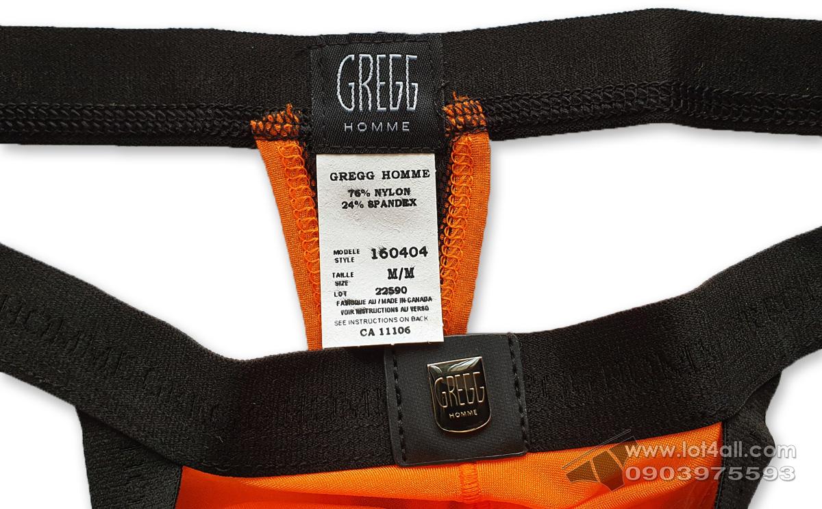 Quần lót nam Gregg Homme Avant-Garde Thong Orange