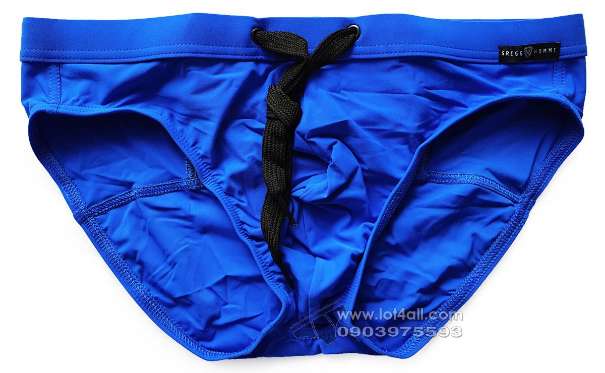 Quần bơi nam Gregg Homme 161203 Exotic Swim Brief Royal