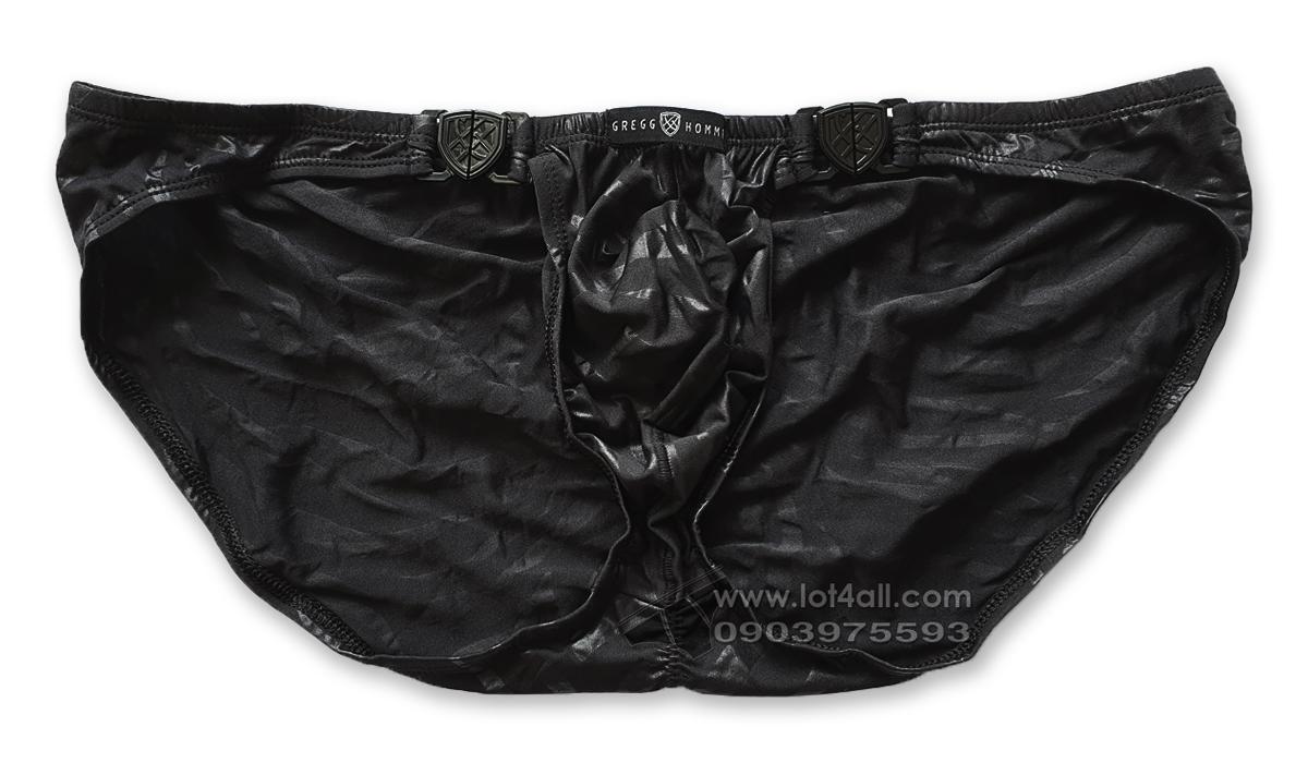 Quần lót nam cao cấp Gregg Homme 162203 Hookt Brief Black