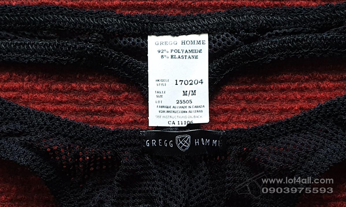 Quần lót nam Gregg Homme 170204 Strap Sheer Thong Black