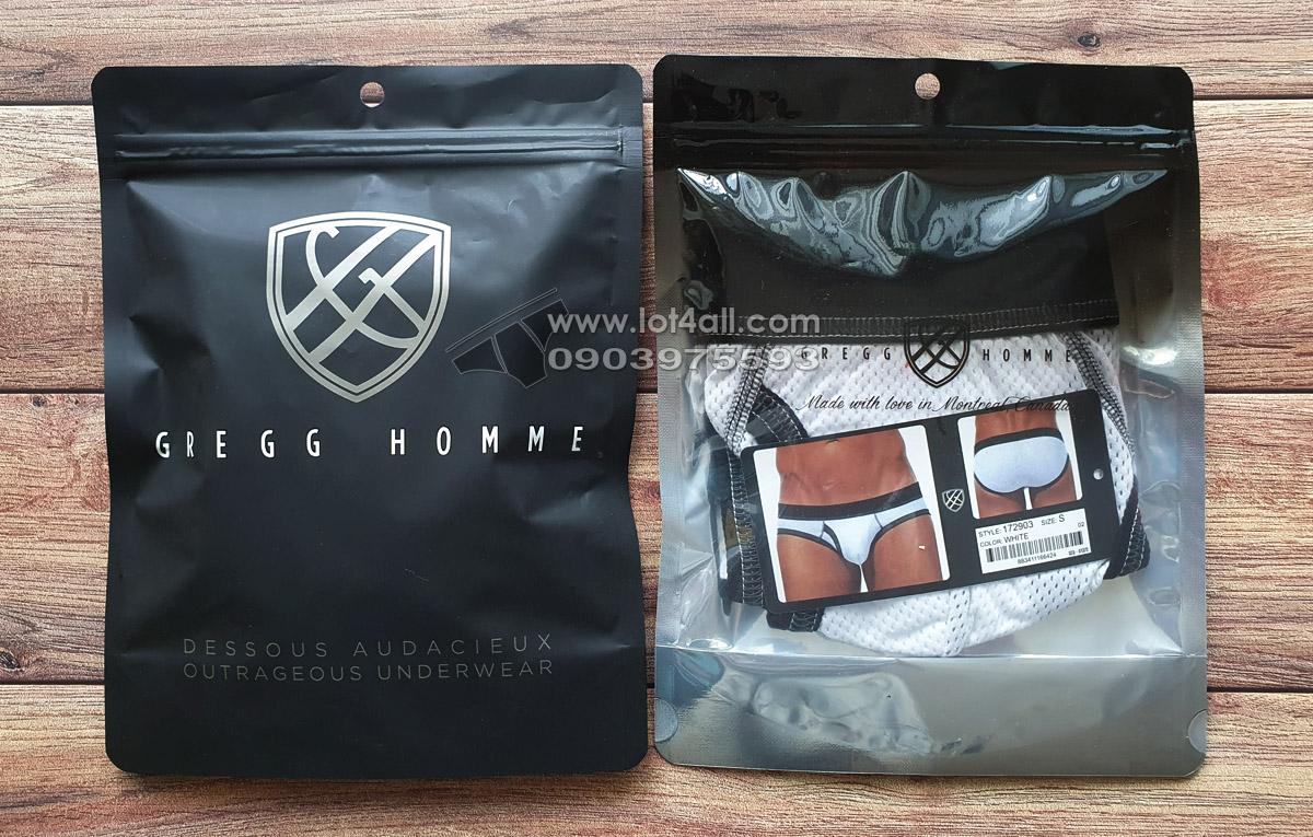 Quần lót nam Gregg Homme 172903 Vintage Brief White