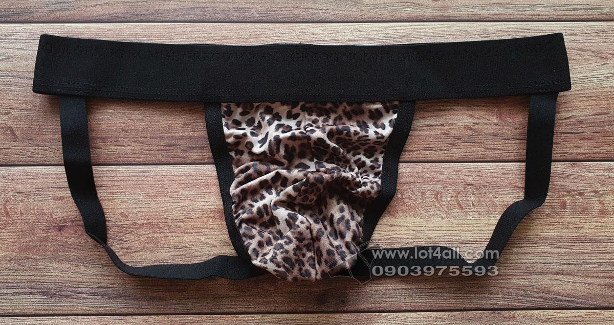 Quần lót nam Gregg Homme 77534 Serengeti Jockstrap Leopard