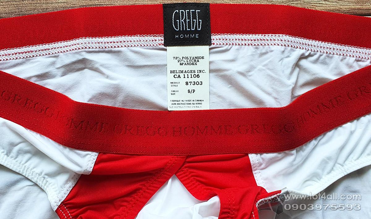 Quần lót nam Gregg Homme 87303 Pump-Up Brief White