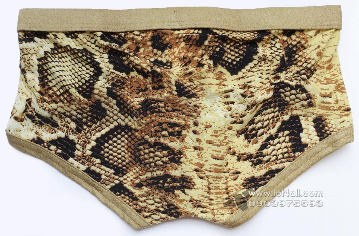 Quần lót nam Gregg Homme Snakeskin Boxer Snake Print