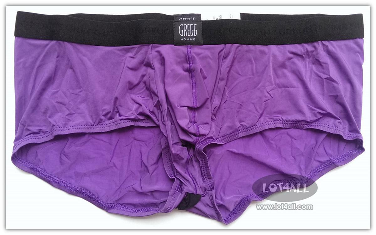 Quần lót nam cao cấp Gregg Homme PerfekBum Butt Outliner Square Cut Purple