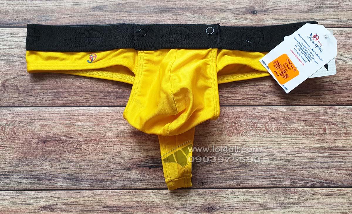 Quần lót nam Joe Snyder NXL Thong Mango