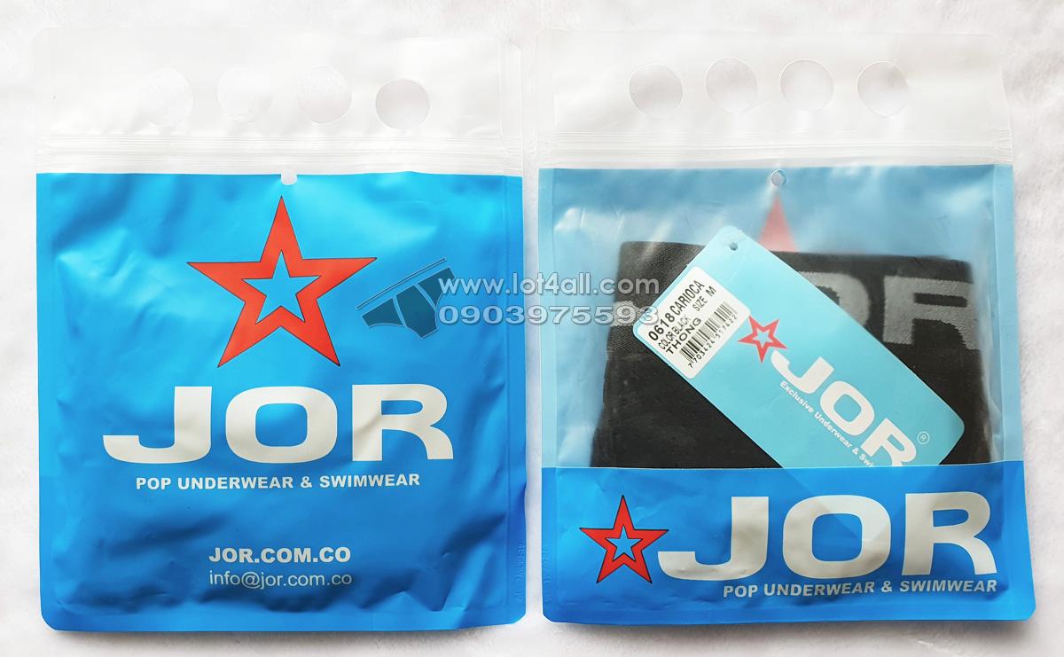 Quần lót nam JOR 0618 Carioca Thong Black