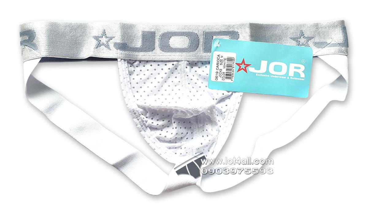 Quần lót nam JOR 0619 Carioca Jockstrap White