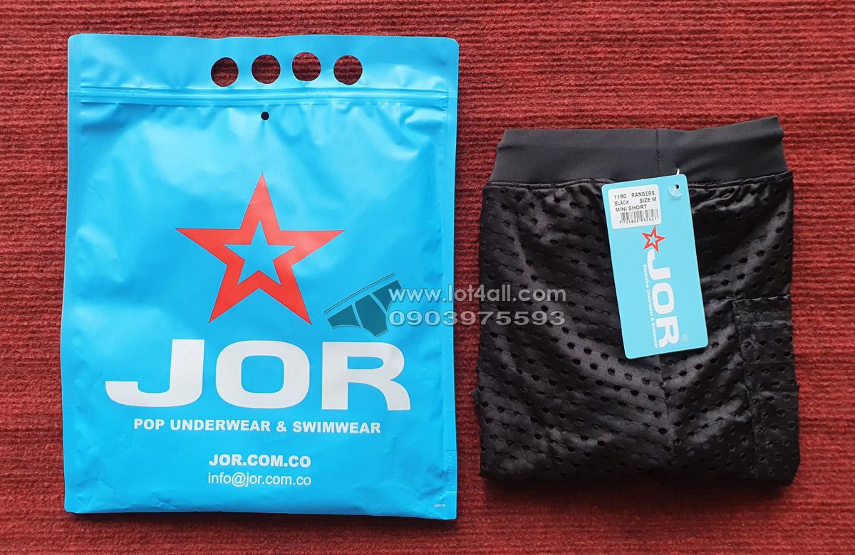 Quần short nam JOR 1180 Rangers Mini Short Black