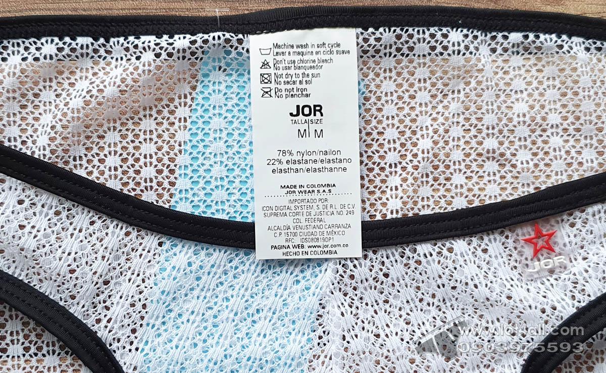 Quần lót nam JOR 0970 Mambo Bikini White