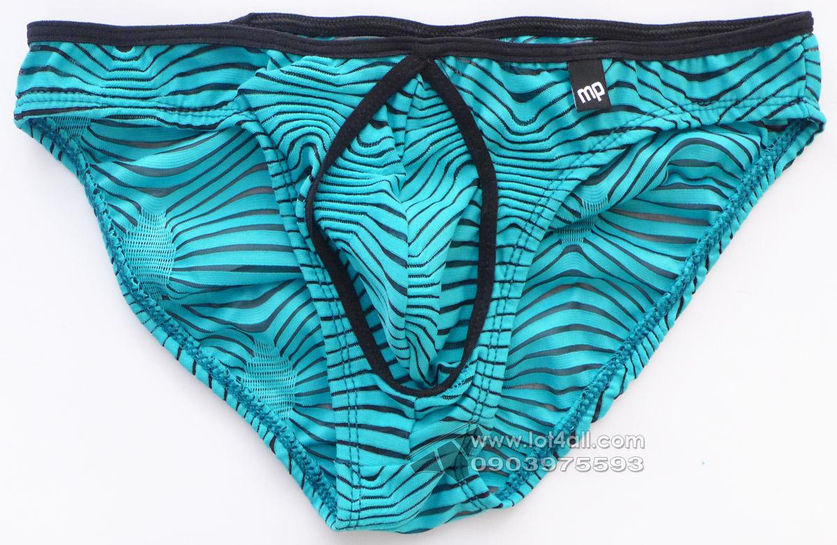 Quần lót nam cao cấp Male Power 483234 Tranquil Abyss Mini Bikini Green