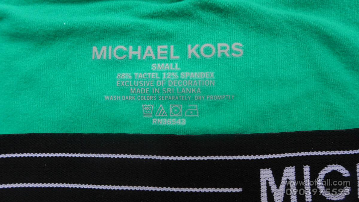 Quần lót nam cao cấp Michael Kors Microfiber Stretch Trunk Shamrock