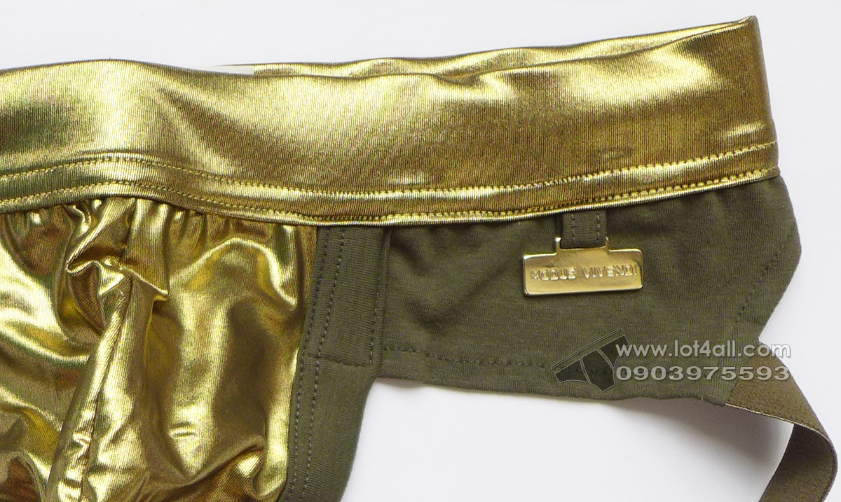 Quần lót nam Modus Vivendi Dusk2Dawn Jockstrap Khaki/Gold