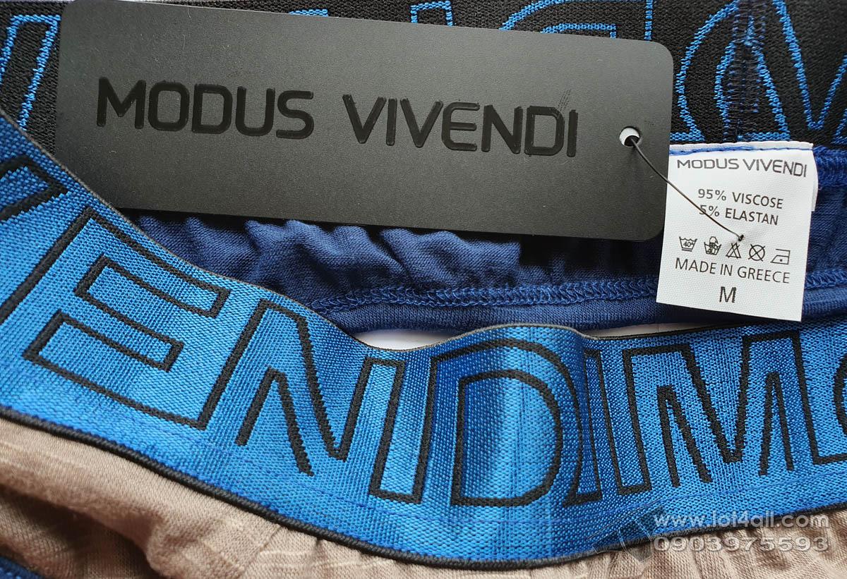 Quần lót nam Modus Vivendi Slub Line Backless Brief Camel