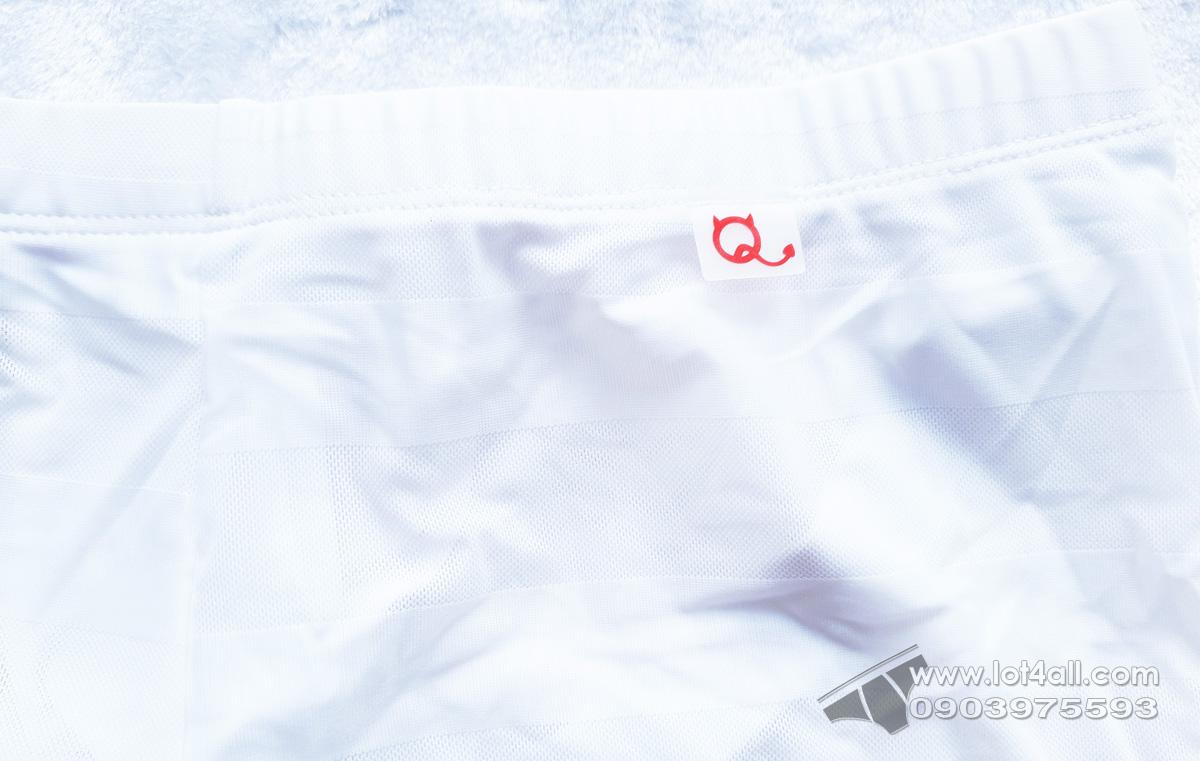 Quần lót cao cấp PetitQ PQ180907 Jock Athletic Short White