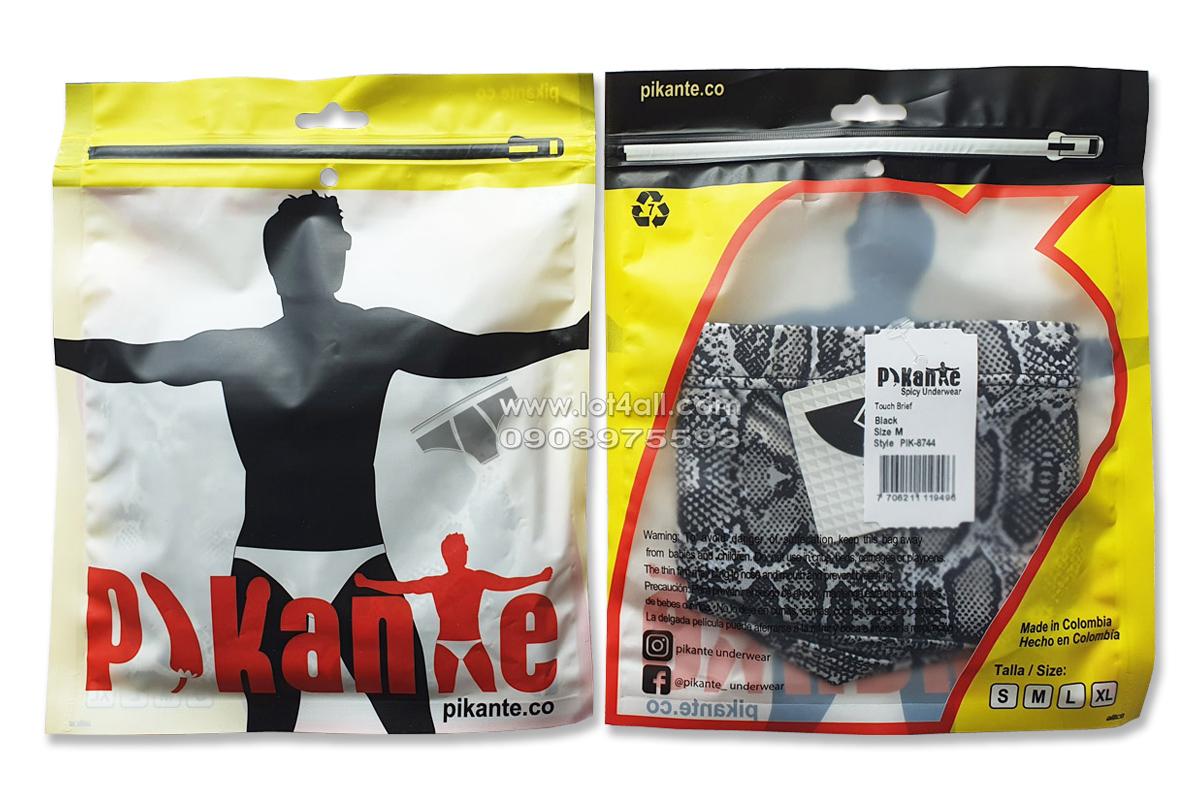 Quần lót nam Pikante 8744 Touch Latin Brief Black