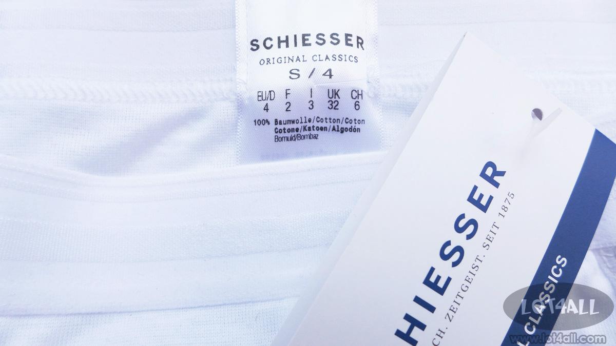 Quần lót nam cao cấp Schiesser Premium Cotton Slip Brief White