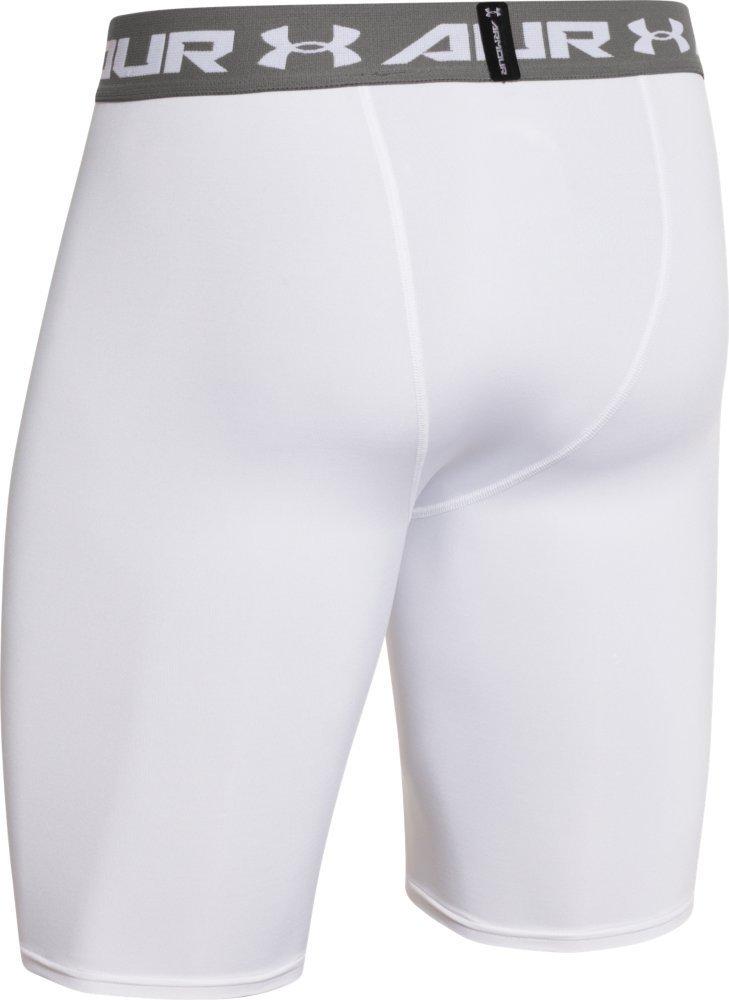 Quần lót nam cao cấp Under Aromour HeatGear Compression Short White