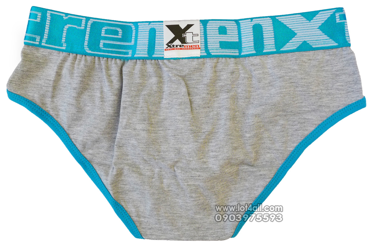 Quần lót nam cao cấp Xtremen 91014 Sport Brief Gray