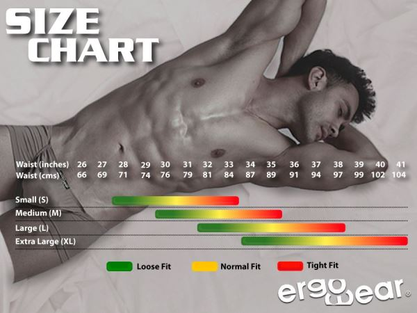 Size chart Ergowear