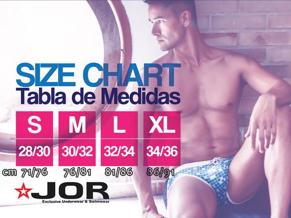 Size chart JOR